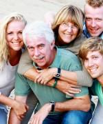 familie foto in Den bosch